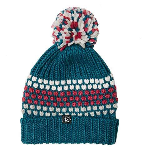 (Horseware Ireland Girls Hat, Teal, One Size)