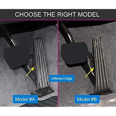for BMW F15 F16 F30 G01 G02 G05 G20 G30 F22 F25 F36 Accessories Gas Accelerator Brake No Drill Pedals Cover (Fits: BMW 1 2 3 4 5 6 7 Series X3 X4 X5 X6): Automotive
