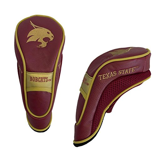 Team Golf NCAA Hybrid Golf Club Headcover, Hook-and-Loop Closure, Velour Lined for Extra Club Protection