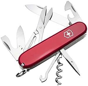 Victorinox Swiss Army Climber Pocket Knife (Red)
