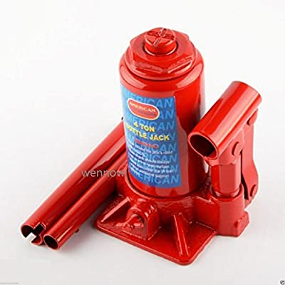 Wennow 4 Ton Bottle Jack Hydraulic Portable Bottle Jack Heavy Duty Car Repair 8000 lbs