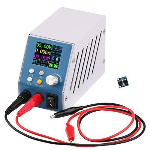 DC Buck Converter, Yeeco 6-55V 24V 36V 48V to 0-50V 5V 12V Numerical Control DC-DC Voltage Regulator Power Stabilizer Multimeter 250W 5A Adjustable Voltage Step Down Power Supply with Display and Knob