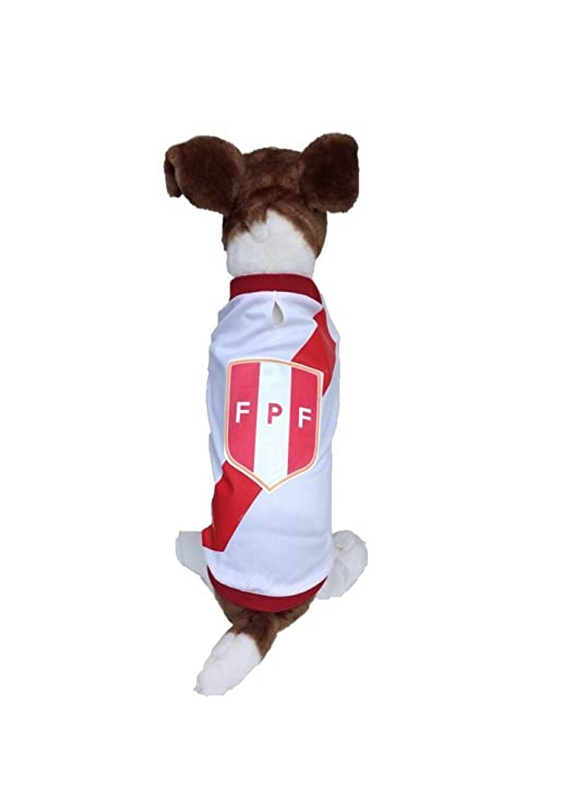 ... Made of 100% Polyester-breathable Fabric-makes Dog Comfortable-cozy up Costume to Celebrate The Russia World Cup 2018-enjoy Your Football Team Passion.