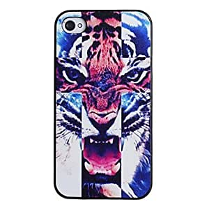 A fierce tiger pattern computer hard disk cases and iPhone 4/4 black box