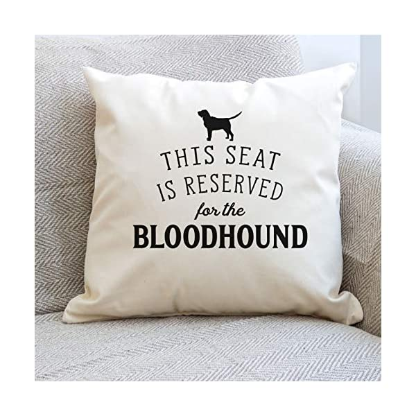 Affable Hound Reserved for The Bloodhound - Cushion Cover - Dog Gift Present 3