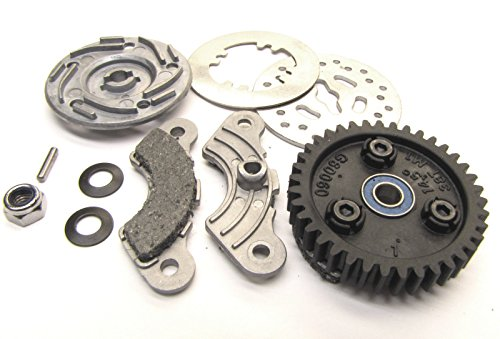 Traxxas Nitro Revo 3.3 SPUR GEAR (38t) Slipper & Brake Set, 5364 5352 X (38t Spur)