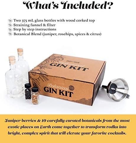 12pc Tonic /& Gin Botanicals Gin Flavoring Box Brewing Kit Gin Infusion Christmas