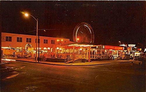 Jacksonville, Florida, FL, USA Postcard Amusement Park area Unused
