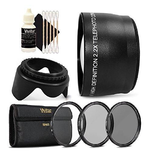 Amazon com : 58mm Telephoto Lens Kit for Canon EOS 700D
