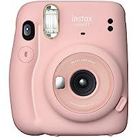 Fujifilm Instax Mini 11 Automatic Flash Photo Camera, Blush Pink (87012)