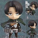 NEW Attack On Titan Eren Mikasa Levi Nendoroid Anime Mini Action Figure Kids Toys