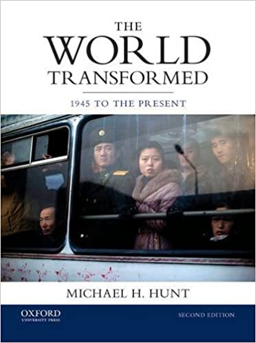 Book The World Transformed: 1945 to the Present