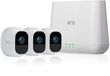 Arlo VMS4330P-100EUS Pro 2 - Sistema de seguridad y vídeo vigilancia de 3 cámaras