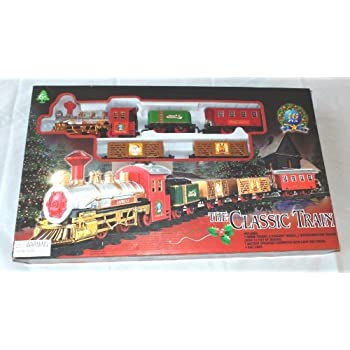 The Classic Train Electric Christmas Tree Train Set