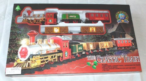 The Classic Train Electric Christmas Tree Train Set (Train Set Under Christmas Tree)
