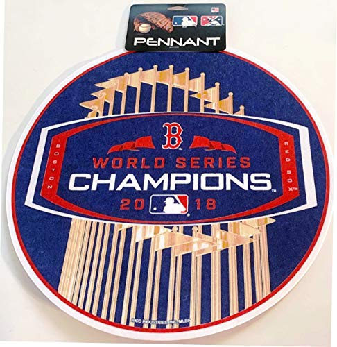 Rico Industries Boston Red Sox 2018 World Series Champs Pennant