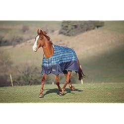 SE Summer Highlander TO Sheet - Size:81 Color:Navy/Royal Check