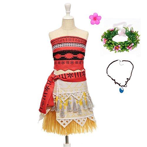 Better Annie Annie Costume Little Girls Advanture Outfit Children Summer Beach Dress Kids Halloween Cosplay Dresses Clothing ()