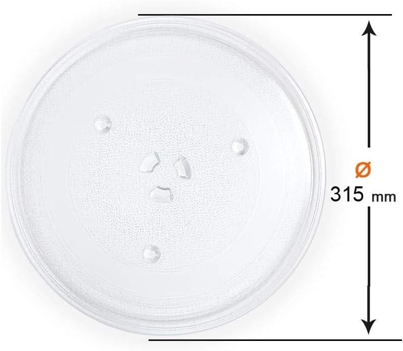 Recamania Plato Microondas Universal Ø 315 mm
