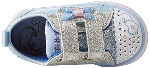 Skechers Baby Mädchen Shuffles-Itsy Bitsy Sneaker Blau (Light Blue)