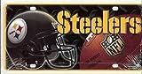 NFL Pittsburgh Steelers Metal License Plate Tag