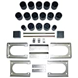 Performance Accessories, Dodge Dakota 2WD and 4WD Std/Ext/Quad Cabs 3' Body Lift Kit, fits 2005 to 2011, PA60163, Made in America