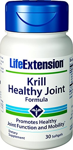 - Life Extension Krill Healthy Joint Formula, 30 Softgels