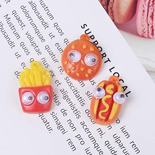 Slime charms Simulation Clay Charms for Slime Accessories Glue for Clay Additives In The Slide Material Toys 6