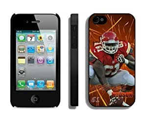 NFL Kansas City Chiefs iPhone 4 4S Case 058 iPhone 4s Cases by kobestar