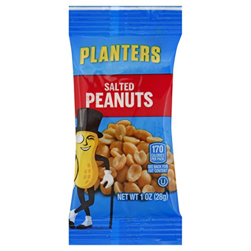 Planters Single Serve Salted Peanuts, 1 oz. Bags (Pack of 144)