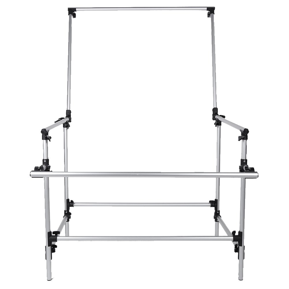 Andoer 100 x 200cm Photo Studio Photography Shooting Table for Still Life Product Shooting Aluminum Alloy Frame by Andoer (Image #5)