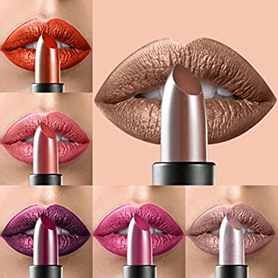 12 Colors Lipstick Women Professional Make-up Long-lasting Lip Glosses for Girls by TOPUNDER