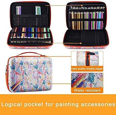 YOUSHARES 220 Slots Colored Pencil Case Refills Handy Multilayer Color Bleicil Holder f/ür Glitter Gel Pens Colored Pencils 18 145 Slots Gel Pens fo Coloring Case Organizer