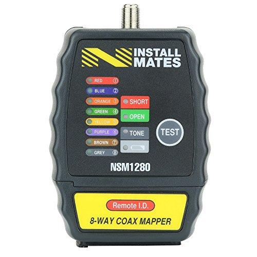 - Nstallmates NSM1280 8-Way Coax Cable Tester w/ Case