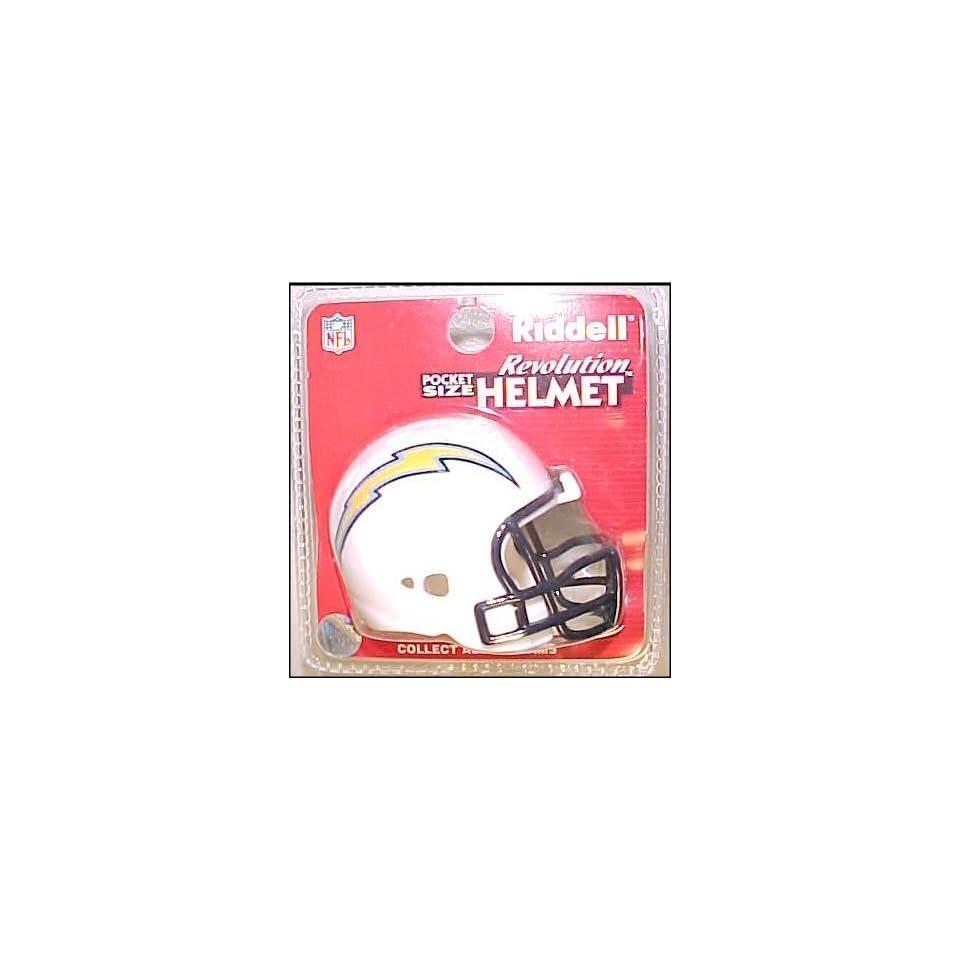 San Diego Chargers NFL Pocket Pro Single Football Helmet