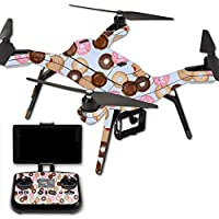 Skin For 3DR Solo Drone – Donut Binge | MightySkins Protective, Durable, and Unique Vinyl Decal wrap cover | Easy To Apply, Remove, and Change Styles | Made in the USA