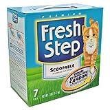 Fresh Step Scoop Cat Litter,7 Lb. (Pack of 6)