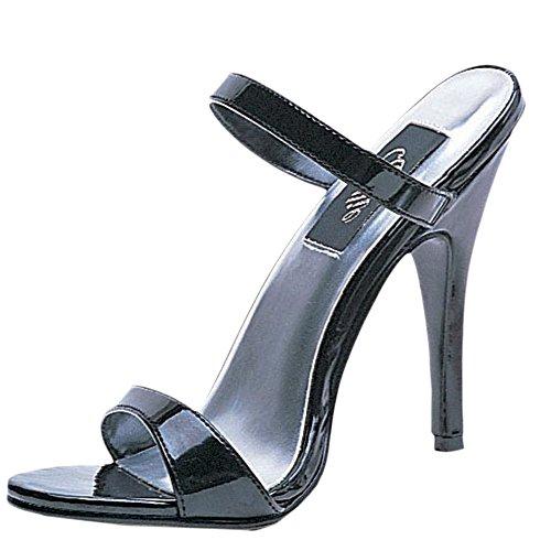 - Ellie Shoes Women's 5 Inch Heel Slip On Sandal (Black;6)