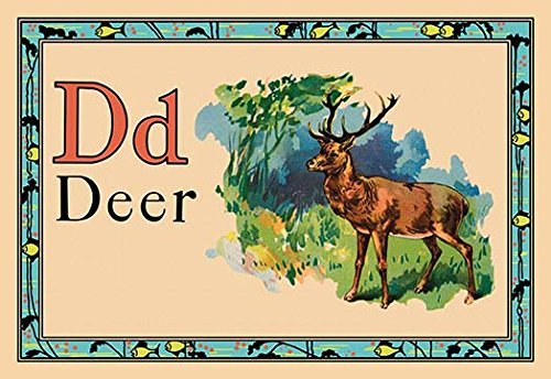 """Deer Museum quality giclee print canvas wrap(20"""" x 30"""")"""