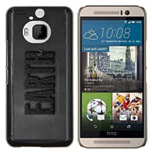 "For HTC One M9+ M9 Plus , S-type TIERRA Guardar Naturaleza"" - Arte & diseño plástico duro Fundas Cover Cubre Hard Case Cover"