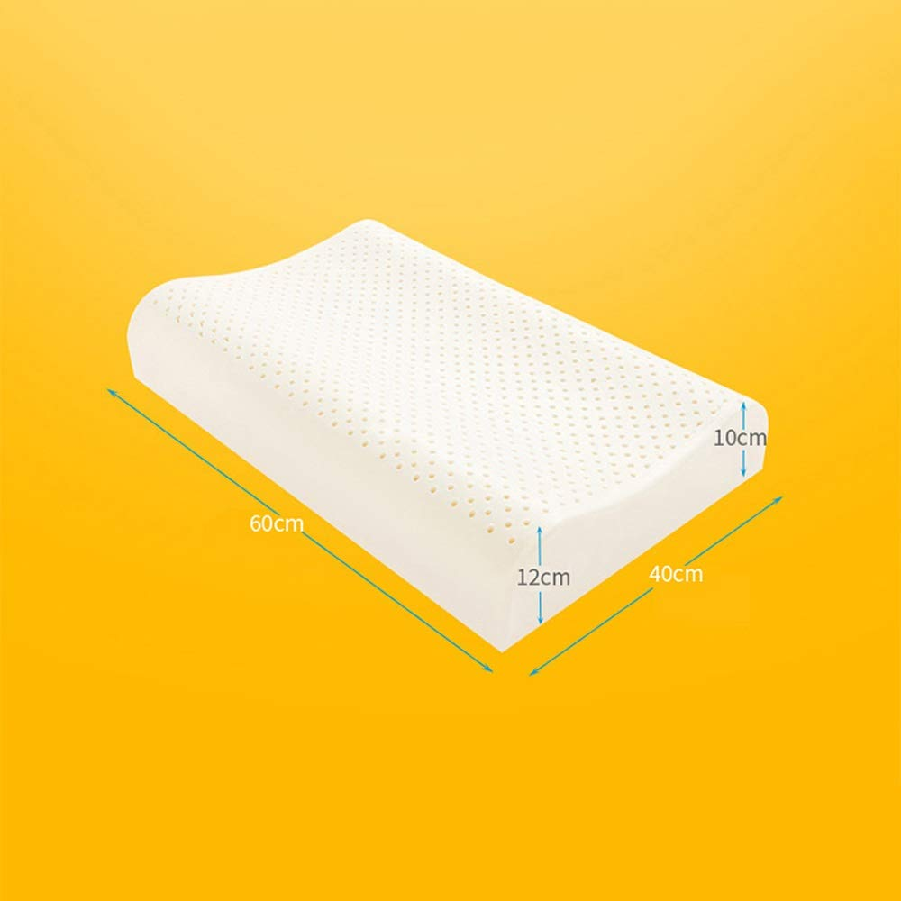 WTGG-Home Textile Latex Pillow - Thailand Imported Natural Latex Pillows Wave Pillows Gift Box /& by WYGG (Image #3)