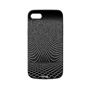 Funda carcasa Case Wireframe blanco para ipod touch 4