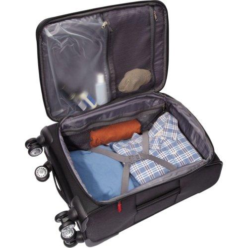 Samsonite Elite Spinner & Laptop Boarding Bag Set EXCLUSIVE (Black)