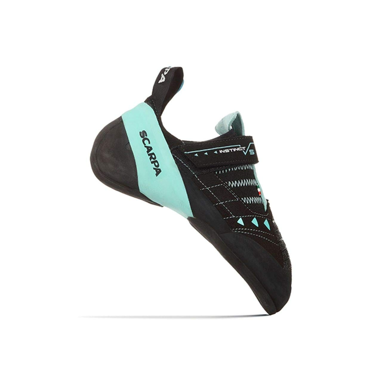 SCARPA Instinct VS Climbing Shoe - Women's Black/Aqua 40 by SCARPA