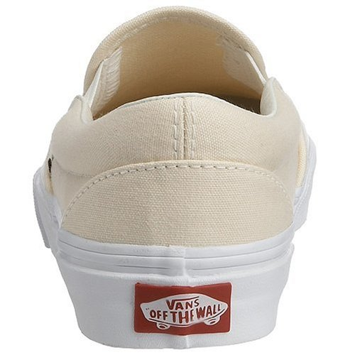 Baskets white Classic on Vans Blanc Adulte Slip Basses Mixte tZSnfRwq