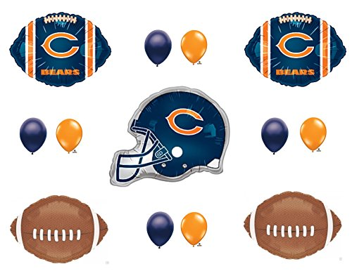 CHICAGO BEARS HELMET Birthday Party Balloons Decoration