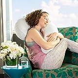 Avana Uno Adjustable Memory Foam Snuggle Pillow for