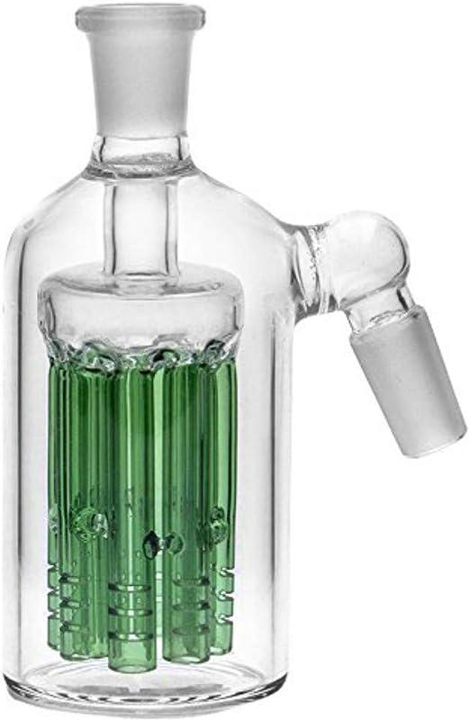 Giunto in vetro 14mm 18mm per accessori per bong di vetro spesso Blu, 18mm