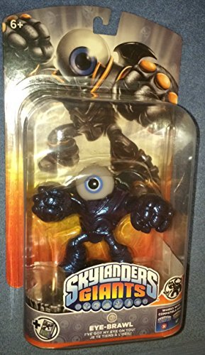 Skylanders Giants Metallic Purple Eye Brawl Rare Chase Variant by Activision]()