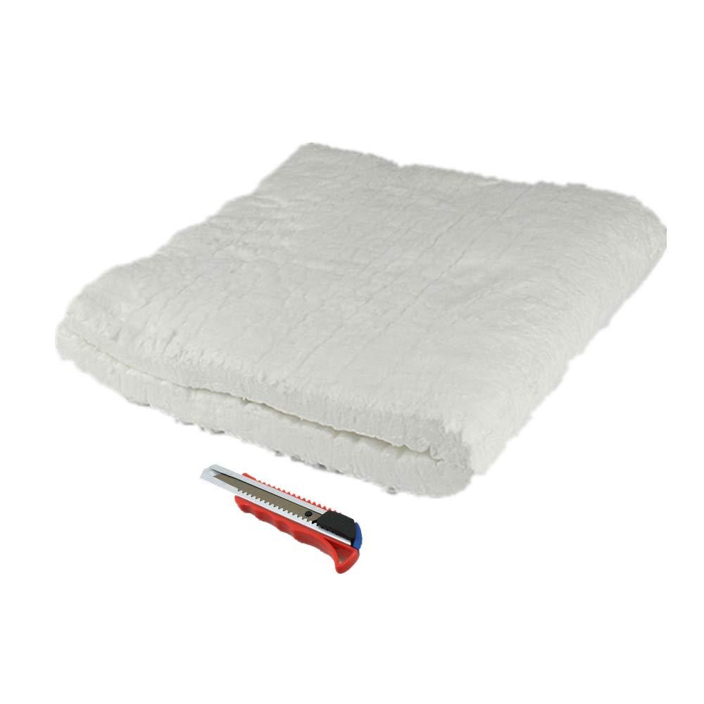 HM&FC 1''x 12''x 24'' Ceramic Fiber Insulation Blanket 2400F